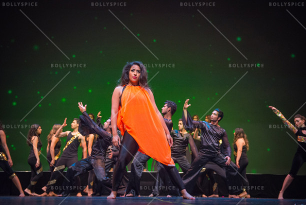 Contemporary performance by Shiamak's Special Potential Batch