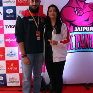 Abhishek and Aishwarya Rai Bachchan gear up for the Jaipur leg
