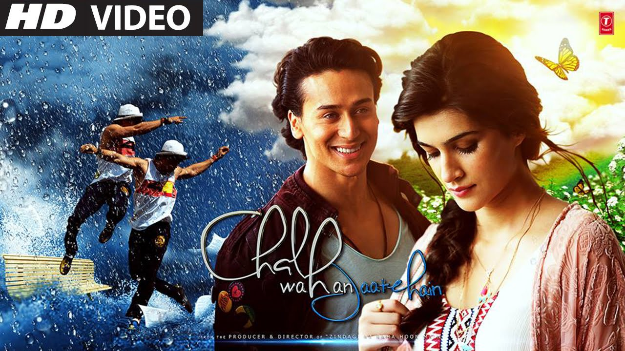 Chal Wahan Jaate Hain Video Song: Tiger-Kriti's romance in ...