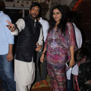 Javed Jaffrey and Nisha Jamwal