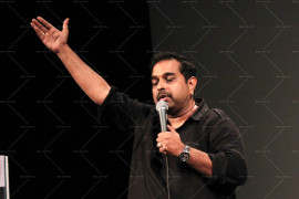 Shankar Mahadevan interactes with students of Whistling Woods (10)