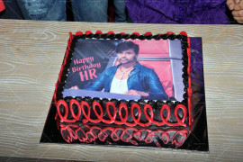 Voice India contestant celebrates Himesh Reshammiya's birthday (1)