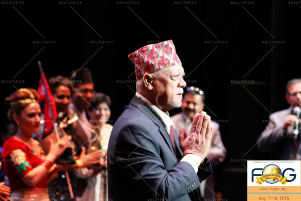 Sunil Thapa at the Awards Night