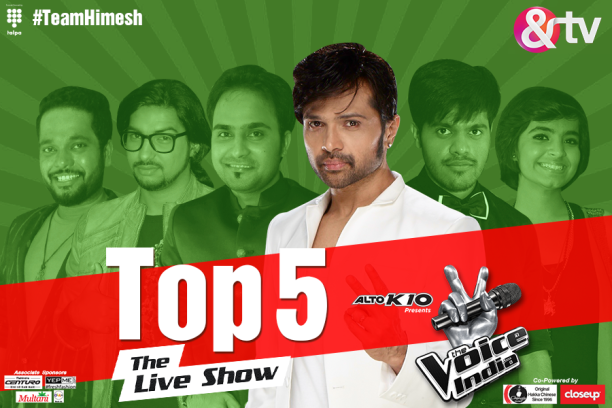 15aug_TheVoiceIndiaLive-Top5Himesh