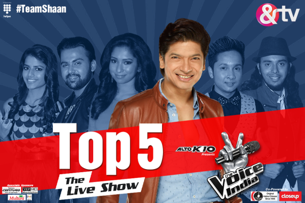 15aug_TheVoiceIndiaLive-Top5Shaan