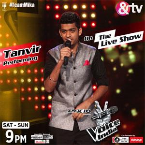 voice of india 2015 meet jain battle round with sawyer