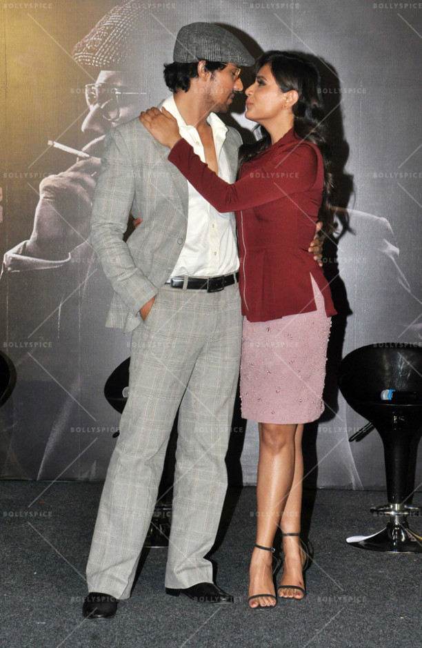 Randeep Hooda and Richa Chadha