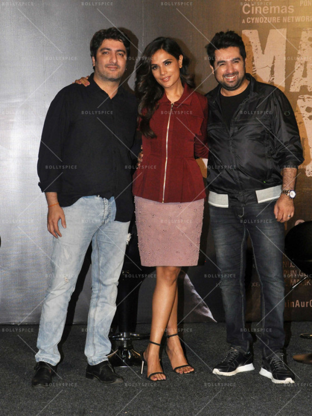 Vikram Khakhar, Richa Chadha and Amit Kapoor