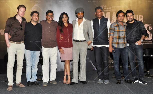 Alex O'Nell, Vikram Khakhar, Nandu Ahuja, Richa Chadha, Randeep Hooda, Adil Hussain, Prawaal Raman and Amit Kapoor