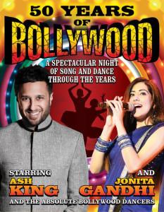 15oct_50YrsBollywood-AshKing-JonitaGandhi-Diwali