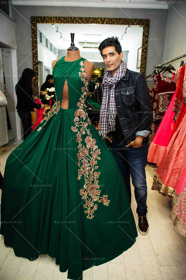 Manish Malhotra with self-designed costume