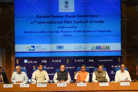 Curtain Raiser Press Conference of IFFI 2015