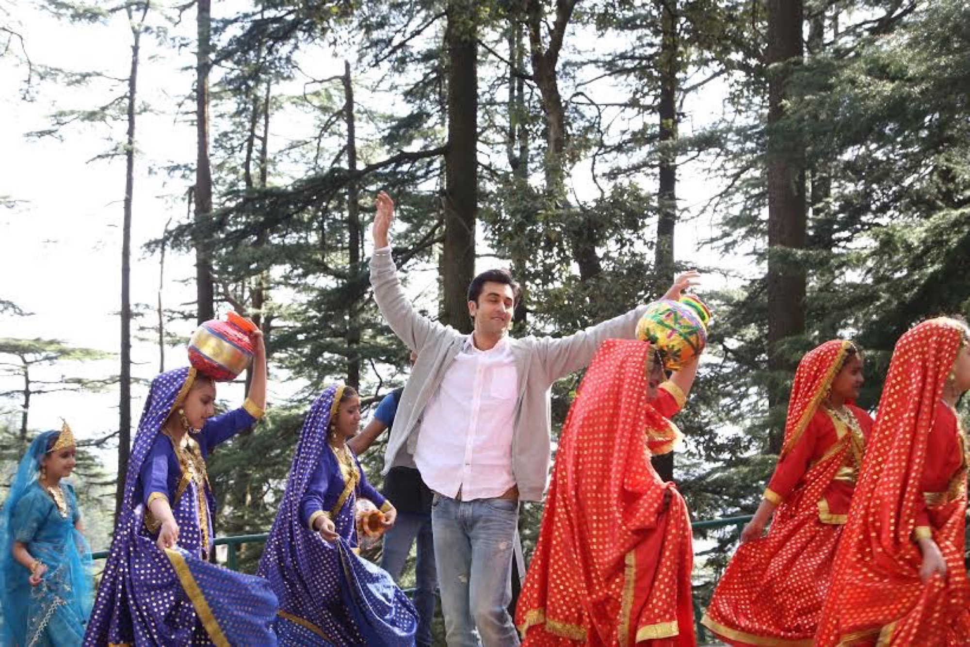Team Tamasha Gets a Lesson in Folk Dance -2