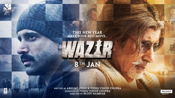 Watch Amitabh Bachchan and Farhan Akhtar in the hard hitting Wazir Trailer