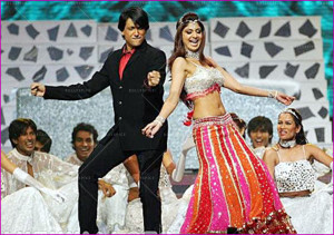 Shiamak and Shilpa - Iifa Awards - Yorkshire