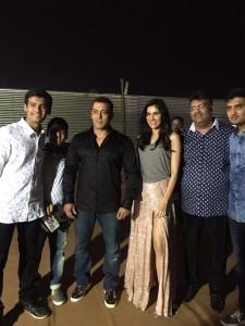 Entex Da-bang Backstage Sonnalli & Salman
