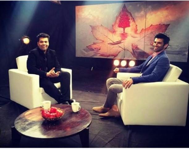 Karan Johar & Aditya Roy Kapur 1