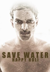 Harshvardhan Save Water