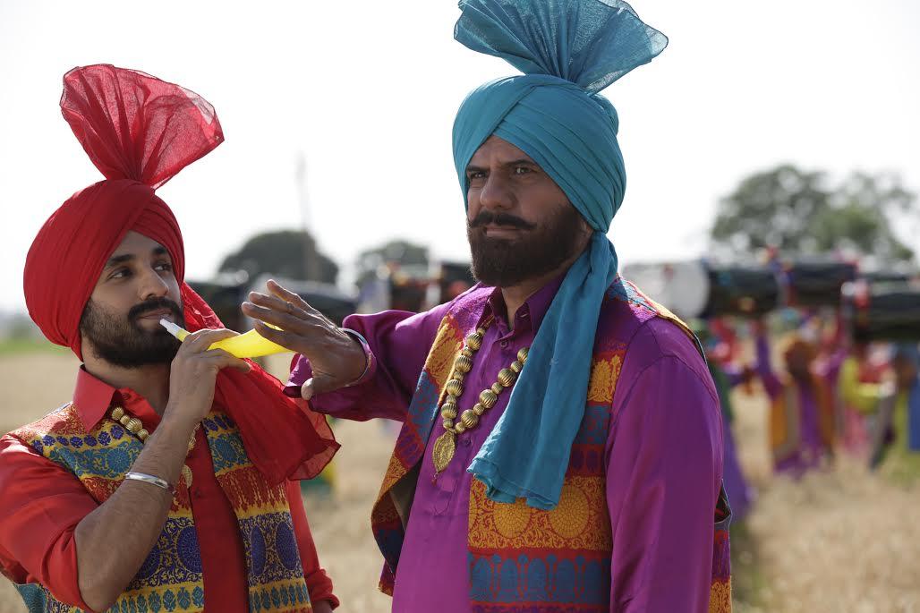 Vir Das and Boman Irani Santa Banta