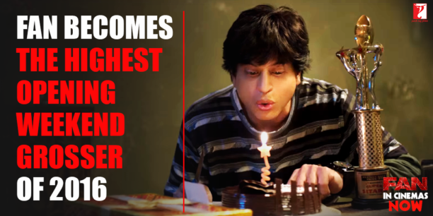 FAN highest weekend grosser