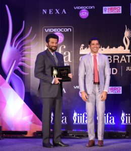 Friends of IIFA- Anil Kapoor, Farhan Akhtar.