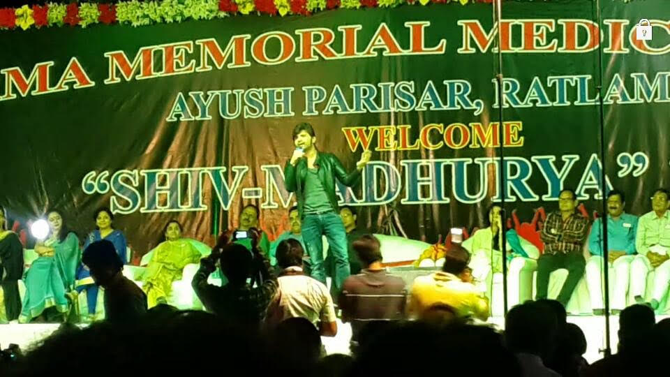 Himesh Reshammiya performs in Ratlam, India 2