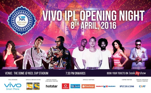 IPL Vivo 2016 Flyer