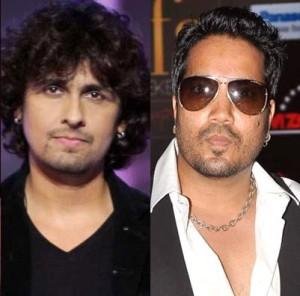 Sonu Nigam and Mika Singh