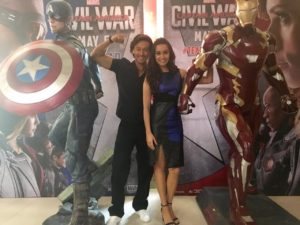 Tiger Shroff for Captain America and Shraddha Kapoor for Iron Man