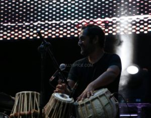 Midival Punditz feat Karsh Kale and musicians at IIFA Stomp in collaboration with Mulafest (12)