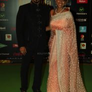 Vivek Oberoi and wife at NEXA IIFA Awards 2016 (36)