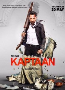 "Poster for the movie ""Kaptaan"""
