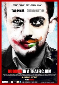 "Poster for the movie ""Buddha in a Traffic Jam"""