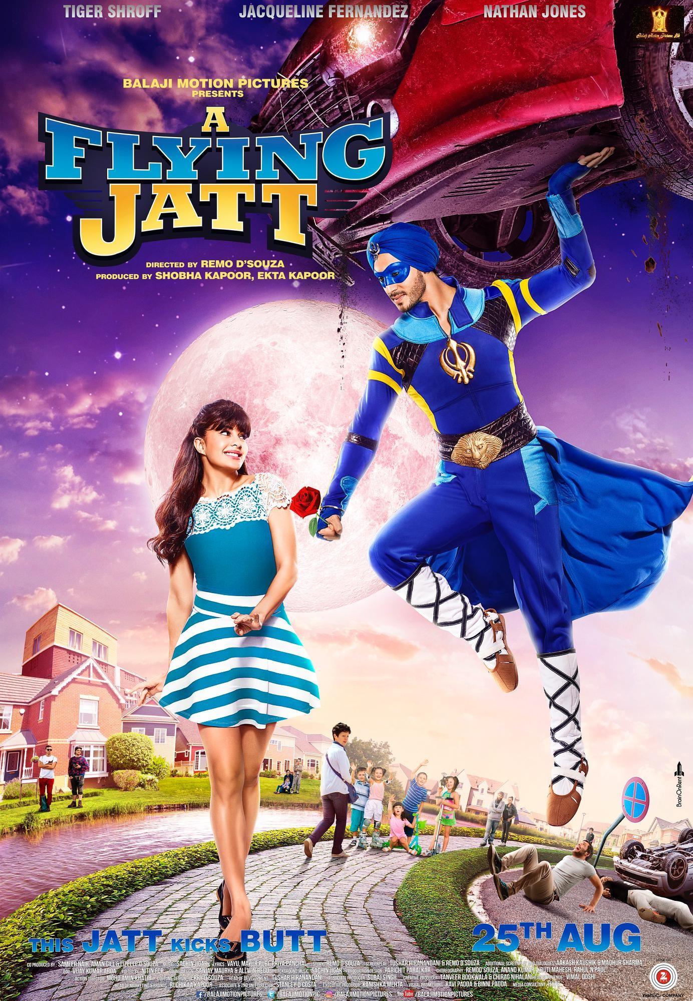 A Flying Jatt - Toota Jo Taara - Poster