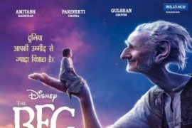 Bade Farishtay Ji (The BFG) Hindi Poster