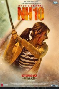 "Poster for the movie ""NH10"""