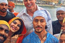 A Flying Jatt cast visit Golden Temple