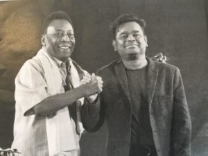 A.R. Rahman Joins Forces with Pelé