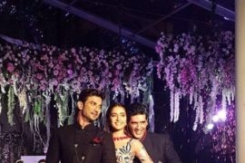 Sushant Singh Rajput, Manish Malhotra and Shraddha Kapoor