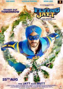 """Poster for the movie """"A Flying Jatt"""""""