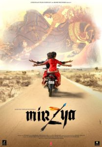"Poster for the movie ""Mirzya"""
