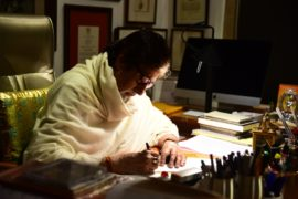 Mr Bachchan pens a letter to his granddaughter