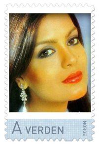 norway-zeenat-aman-stamp