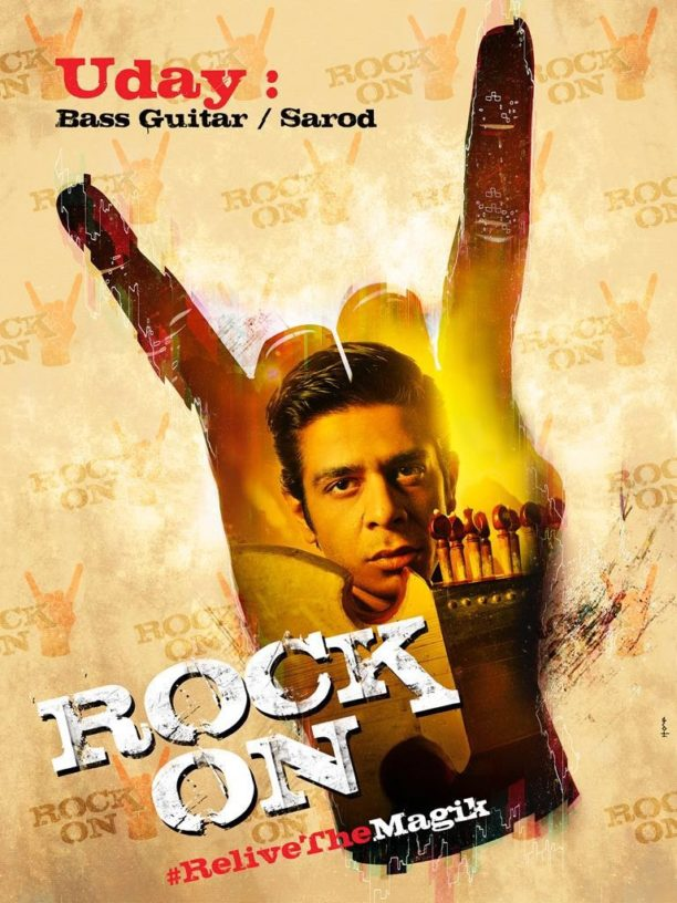 Rock On 2 Shashank poster