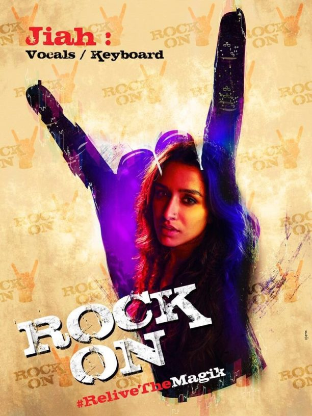 Rock On 2 Shradha Poster