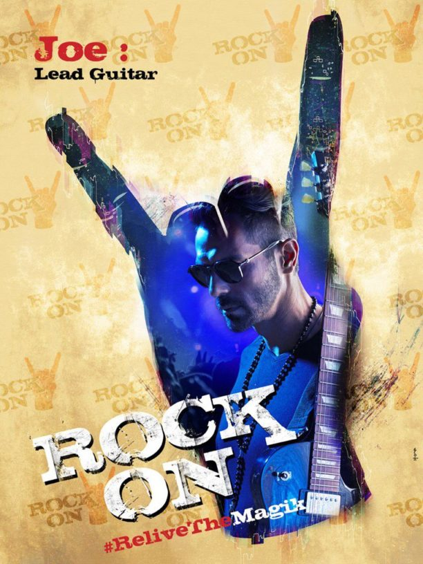 Rock on 2 Arjun Poster