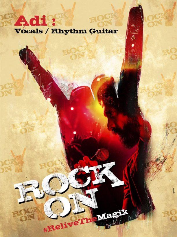 Rock on 2 farhan poster