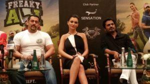 Salman Khan promotes Freaky Ali 2
