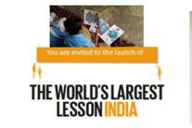 Sonam Kapoor The World's Largest Lesson India Launch on National Teachers Day