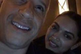 Vin Diesel goes live with Deepika Padukone